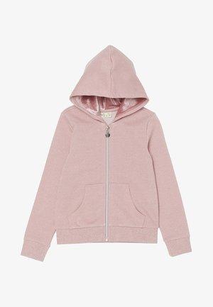 Sudadera con cremallera - light pink