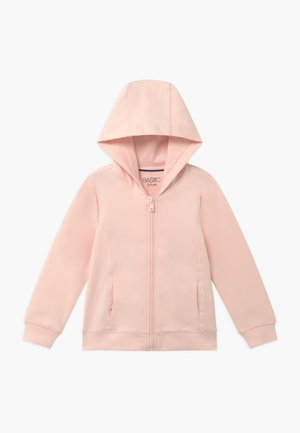 Zip-up hoodie - heavenly pink