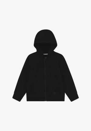 Zip-up hoodie - caviar
