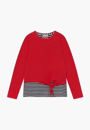 Långärmad tröja - red
