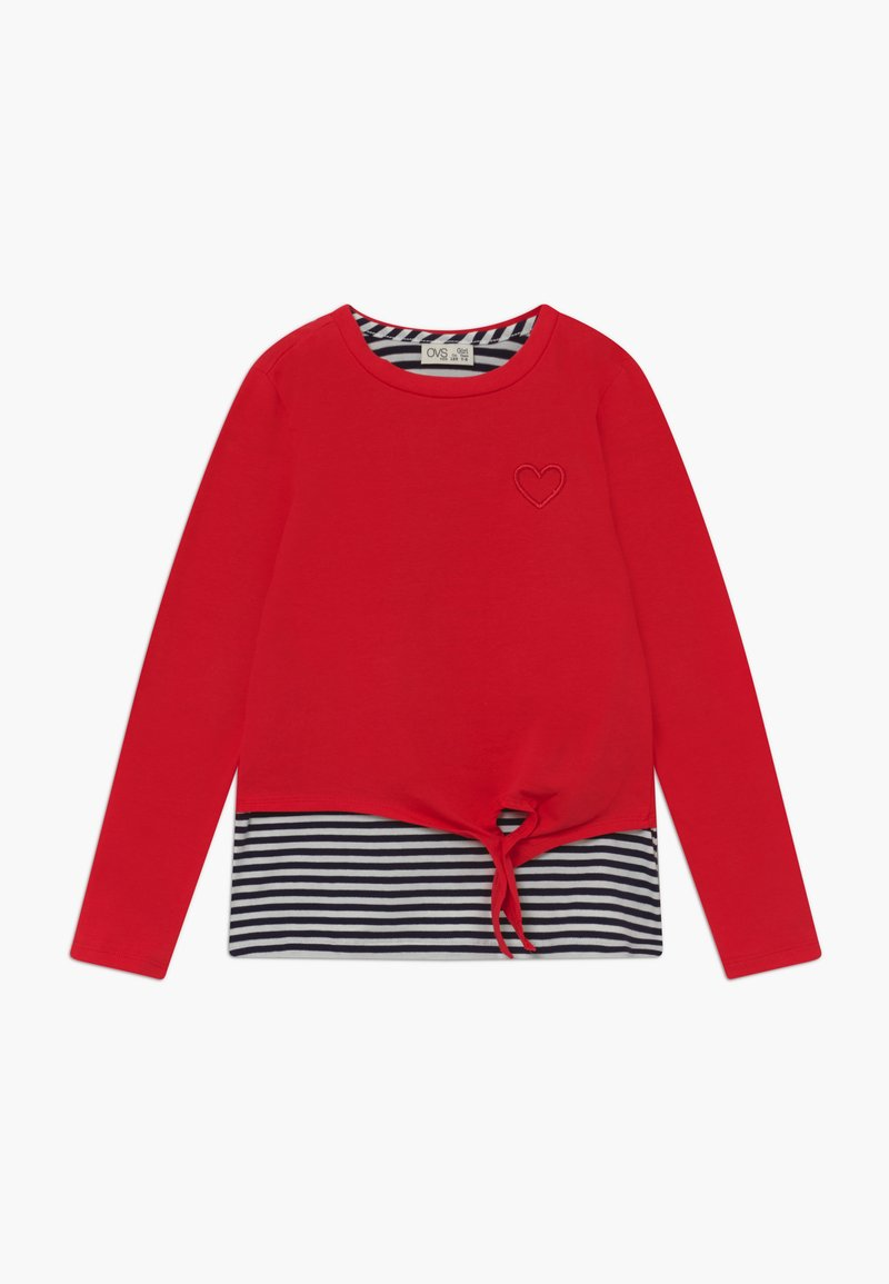 OVS - Long sleeved top - red