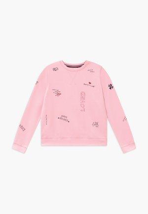 ROUND NECK - Felpa - parfait pink