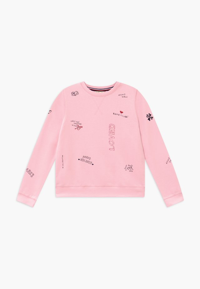 ROUND NECK - Sweater - parfait pink