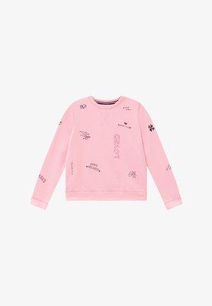 ROUND NECK - Sweatshirts - parfait pink