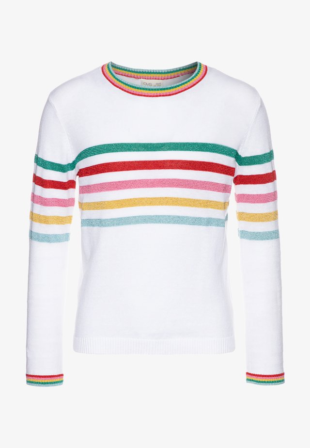 STRIPED JUMPER - Trui - offwhite