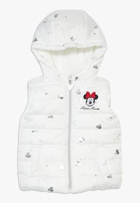 OVS - WAISTCOAT MINNIE - Bodywarmer - brilliant white - 0