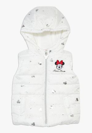 WAISTCOAT MINNIE - Bodywarmer - brilliant white