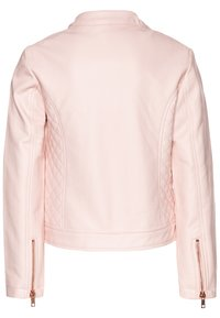 OVS - Faux leather jacket - crystal rose - 1
