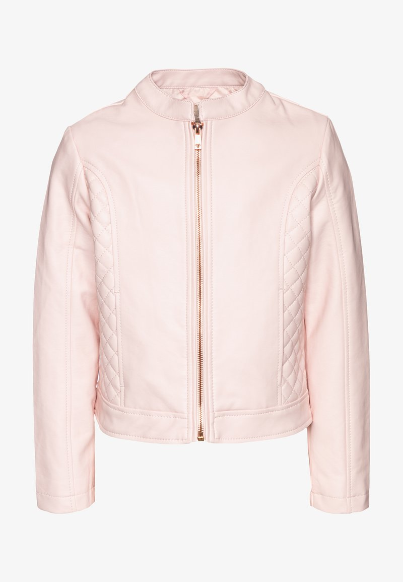OVS - Faux leather jacket - crystal rose