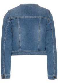 OVS - FULL ZIP - Giacca di jeans - ensign blue - 1