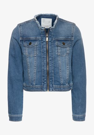 FULL ZIP - Denim jacket - ensign blue