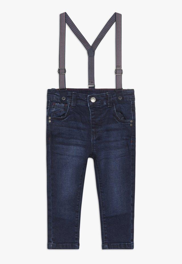 BABY SUSPENDER - Jeans Skinny Fit - blue wing teal
