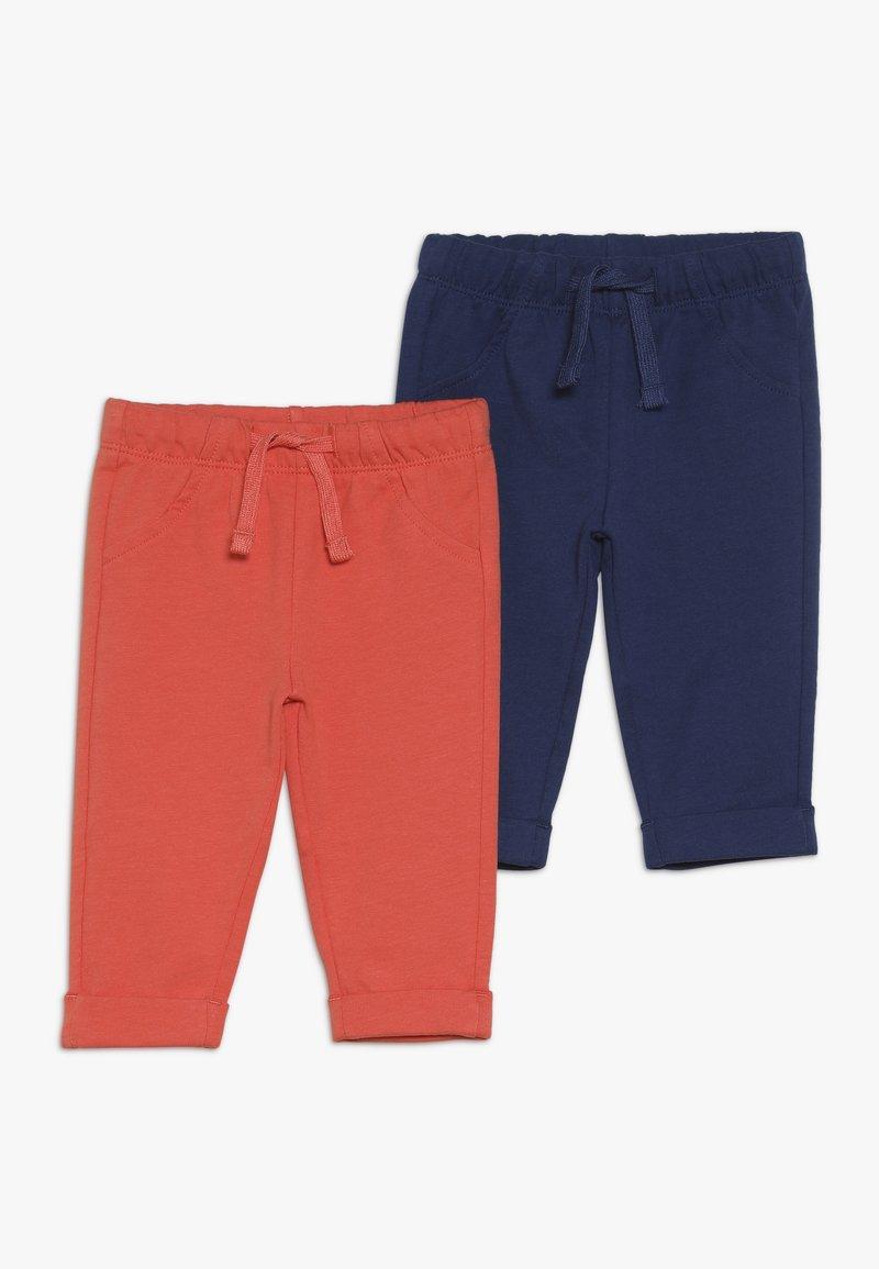 OVS - BABY PANTA FELPA 2 PACK - Pantaloni - estate blue/spicy orange