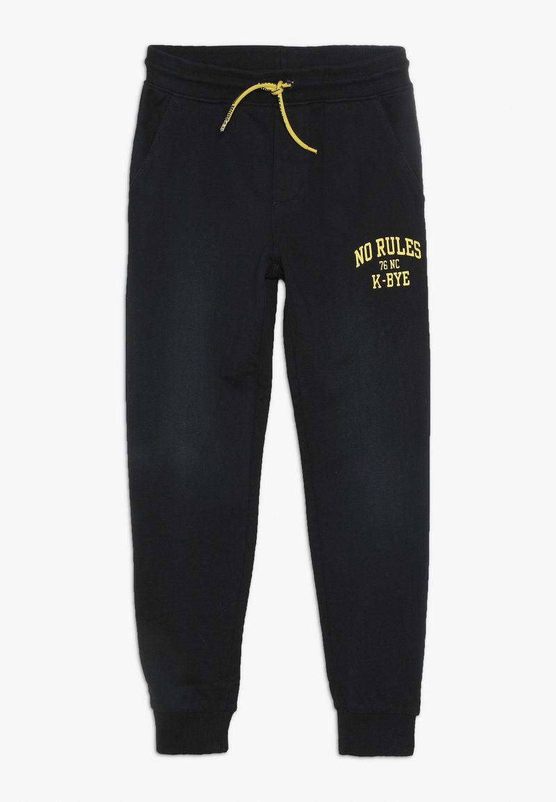 OVS - PANT - Trainingsbroek - black beauty