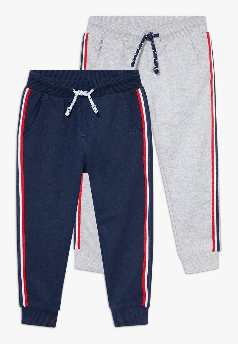 OVS - 2 PACK - Trousers - harbor mist/crown blue