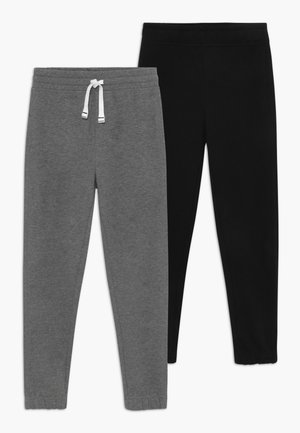 2 PACK - Pantalones deportivos - dark grey/dark blue
