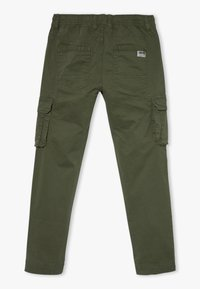 OVS - CARGO GMT DYED - Cargo trousers - rifle green - 1