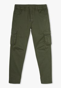 OVS - CARGO GMT DYED - Cargo trousers - rifle green - 0