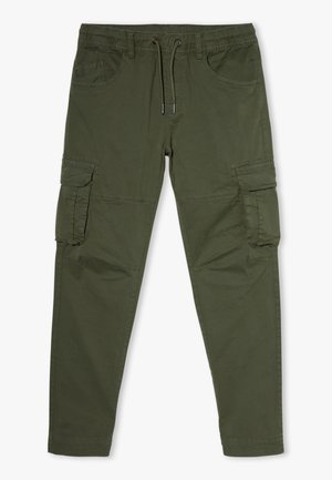 CARGO GMT DYED - Cargo trousers - rifle green