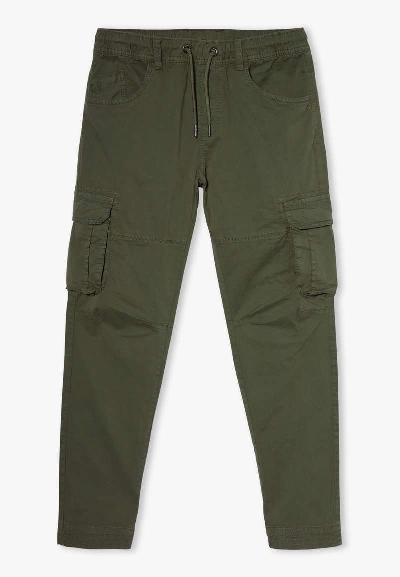 OVS - CARGO GMT DYED - Cargo trousers - rifle green