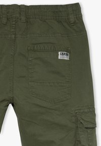 OVS - CARGO GMT DYED - Cargo trousers - rifle green - 4