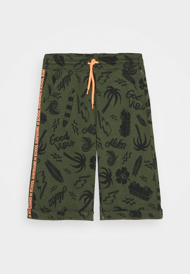 Tracksuit bottoms - rifle green