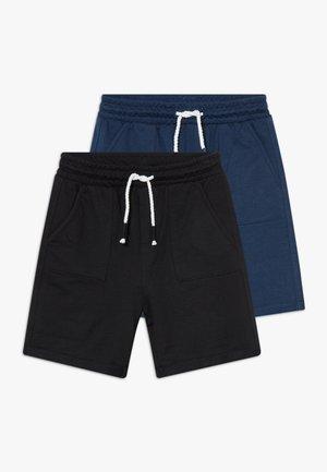 2 PACK - Pantalones deportivos - majolica blue/carbon
