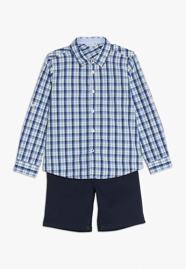 BABY SET - Shorts - navy blue