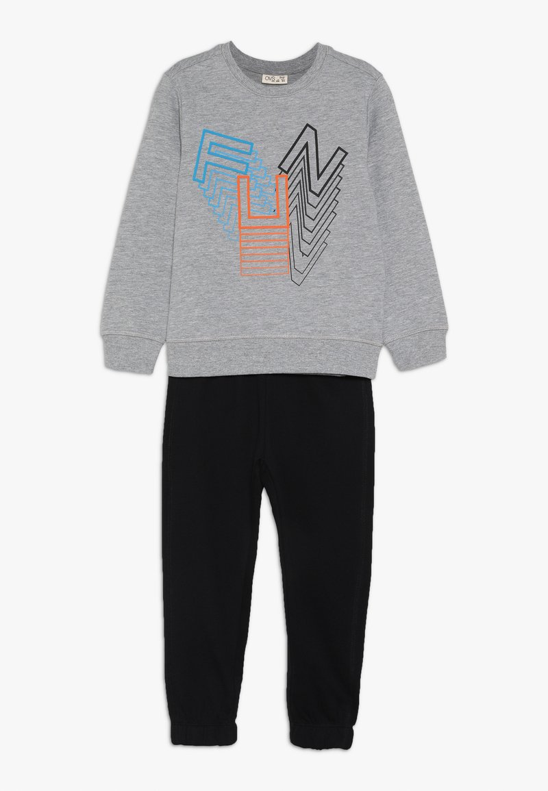 OVS - SET - Sweatshirt - dapple gray