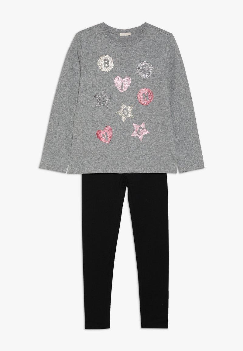 OVS - SET - Sweatshirt - frost gray