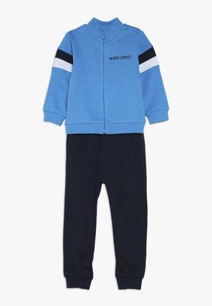 BABY FULL ZIP SET - Zip-up hoodie - blue danube