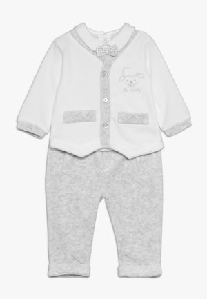 BABY TROUSERS SET - Mikina - bright white