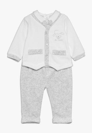 BABY TROUSERS SET - Sweatshirt - bright white