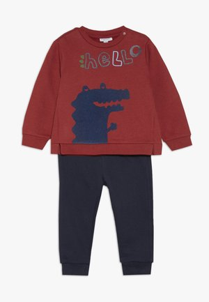 BABY JOGGING ROUND NECK SET - Sweatshirt - barn red