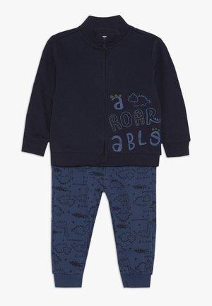 BABY JOGGING FULL ZIP SET - Huvtröja med dragkedja - navy blue