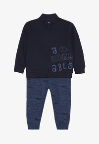 OVS - BABY JOGGING FULL ZIP SET - Zip-up hoodie - navy blue - 3