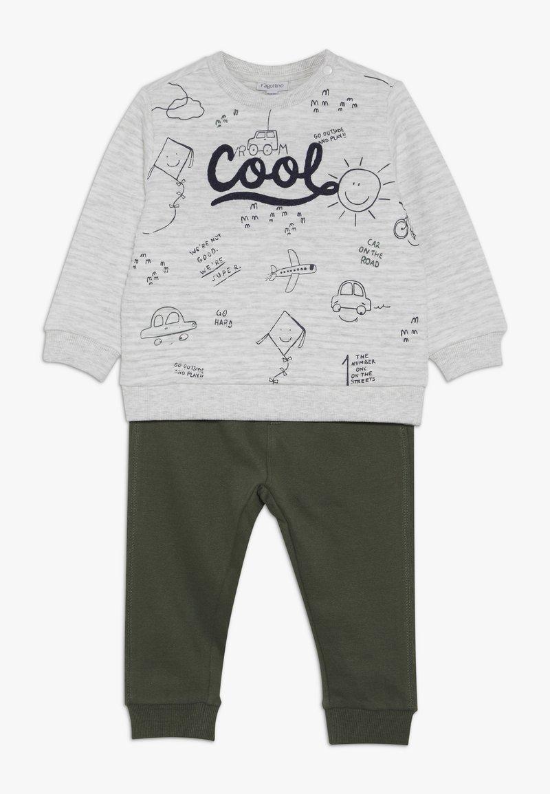 OVS - BABY JOGGING SET - Sweatshirt - beige melange