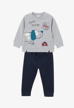 SET PUPPY  - Sweatshirt - blue/grey