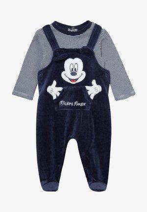 SET - Babygrow - navy blazer