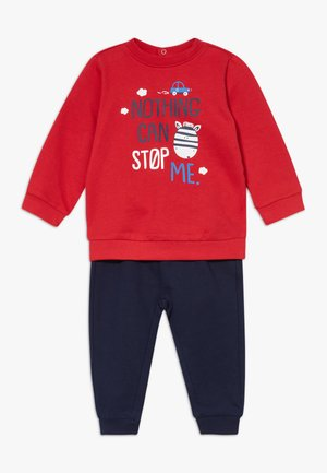 TROUSERS SET - Sweater - racing red