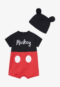 OVS - MICKEY ROMPER HAT SET - Čepice - black bean - 4