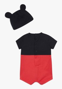 OVS - MICKEY ROMPER HAT SET - Čepice - black bean - 1