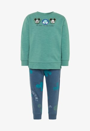 MICKEY SET - Sudadera - beryl green