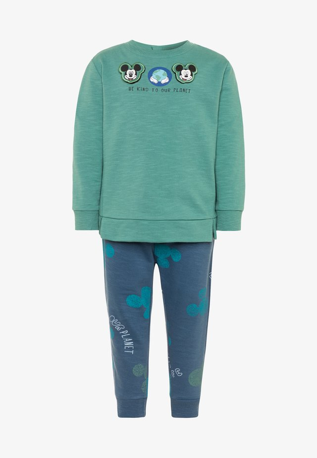 MICKEY SET - Sweatshirt - beryl green