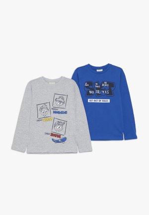 2 PACK - Longsleeve - mazarine blue