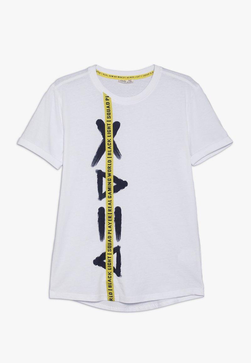 OVS - TEE SIDE PRINT - T-Shirt print - brilliant white