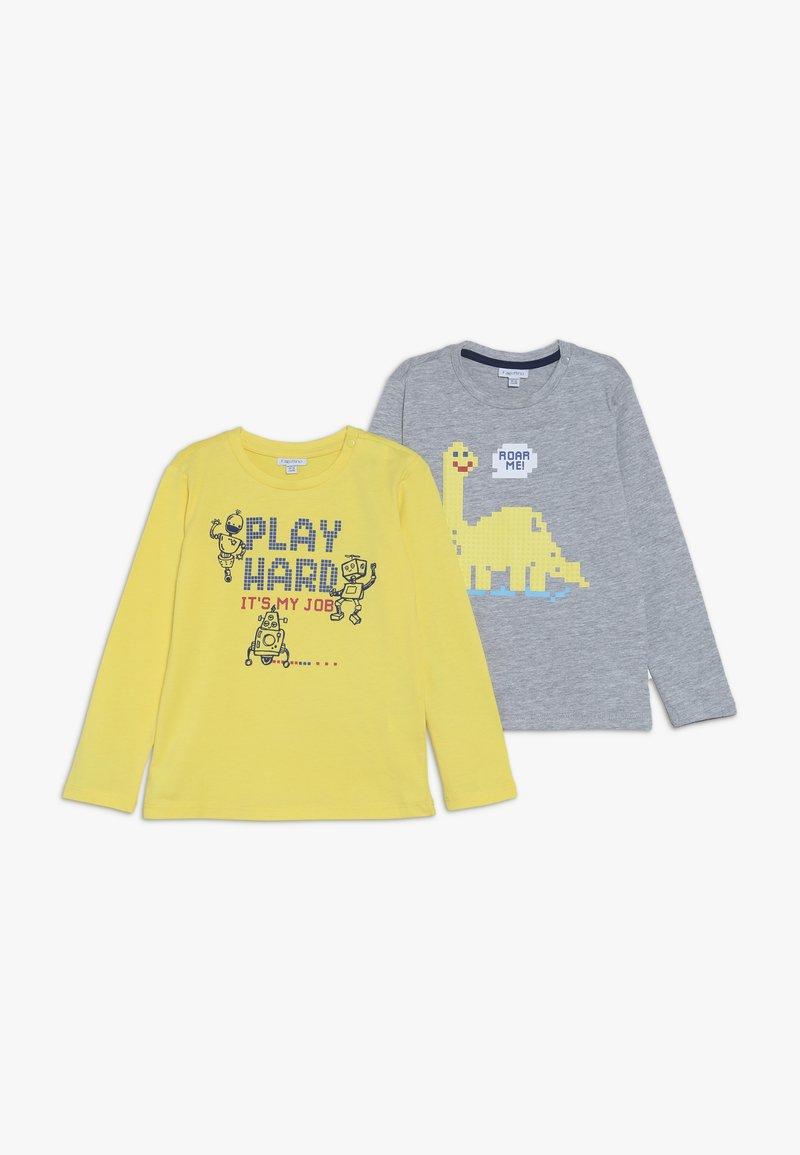 OVS - BABY 2 PACK - Maglietta a manica lunga - vapor blue/aspen gold