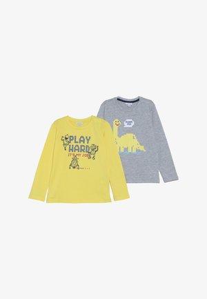 BABY 2 PACK - Långärmad tröja - vapor blue/aspen gold