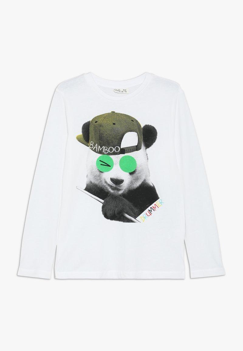 OVS - Langærmede T-shirts - brilliant white