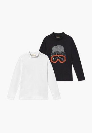 CREW NECK 2 PACK  - Langærmede T-shirts - peat